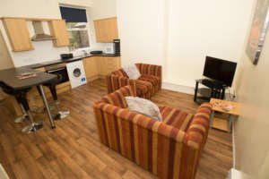 four bedroom student flat